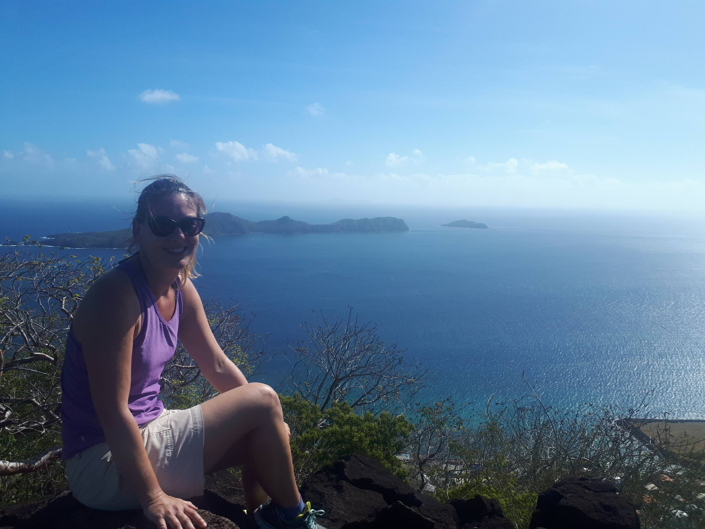 Hiking in Bequia